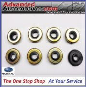 Genuine Subaru Impreza Turbo x 8 Rocker Cover Bolt Washer Seals Gaskets V5 - V9